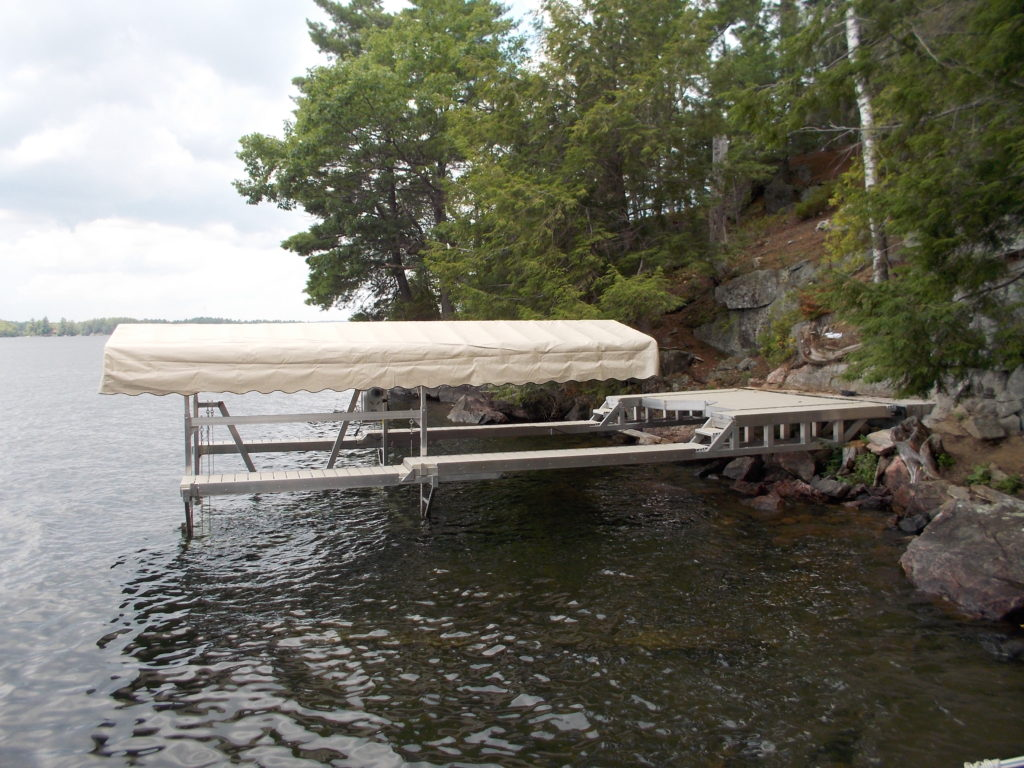 Personal watercraft dock